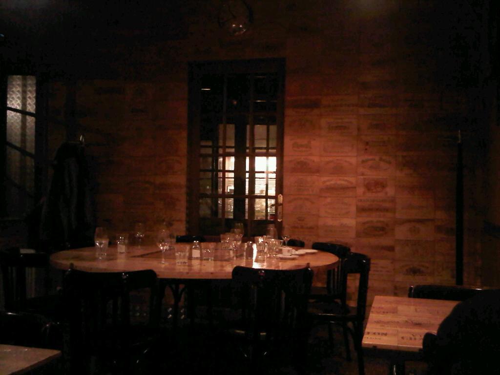 L envers du décor restaurant français saint emilion