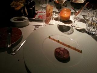 Gibiers à plume sauvage, confit comme une galantine au foie gras - Restaurant La Bauhinia, Hôtel Shangri-La - Paris, 16ème
