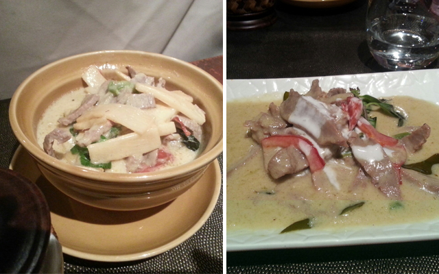Boeuf Khiao Wan nua & Veau Khiao wan