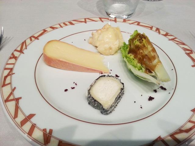 Composition de fromages à Loiseau des Vignes