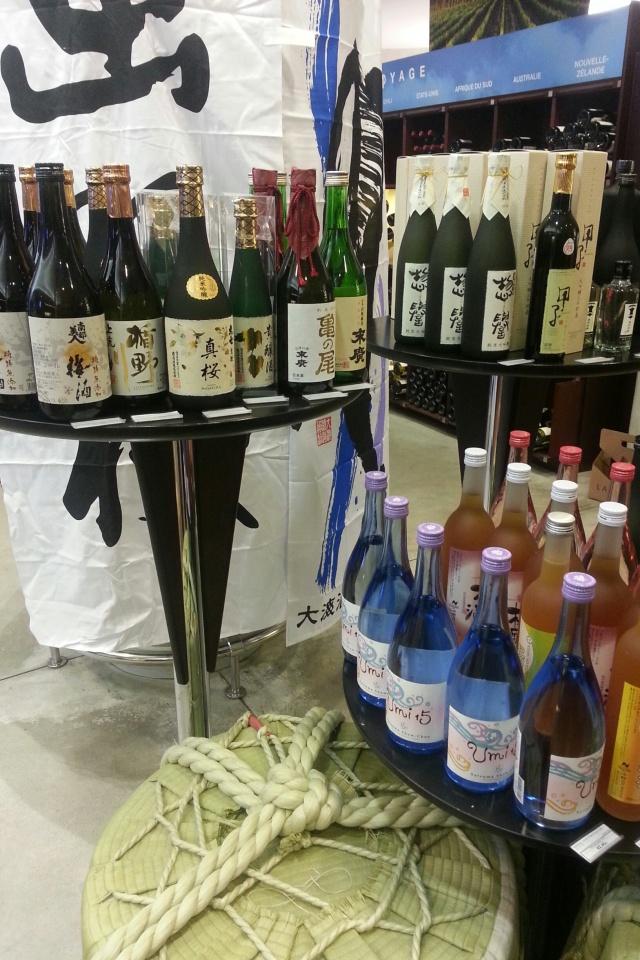 Chez Lavinia, dégustation de saké japonais