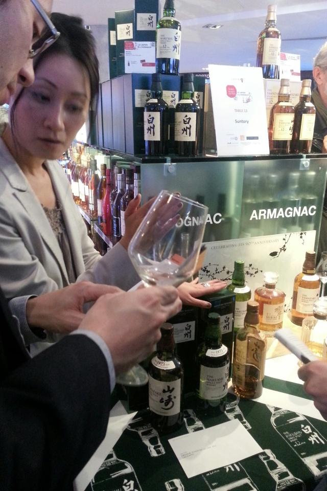 Chez Lavinia, dégustation de whisky japonais - Marque : Suntory