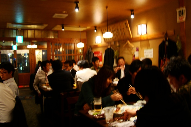 Miyoshi, izakaya à Hiroshima
