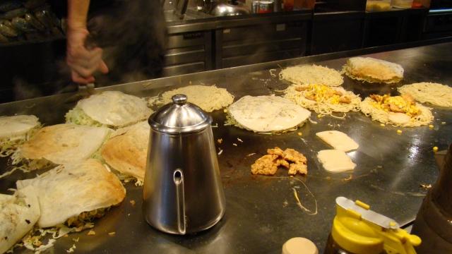 Okonomiyaki d'Hiroshima - Japon